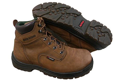 """Men's 6"""" Work Boot (RW 435) Electrical Hazard, Waterproof … (15D, Brown)"""