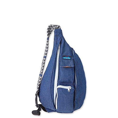KAVU Rope Bag, Denim, One Size