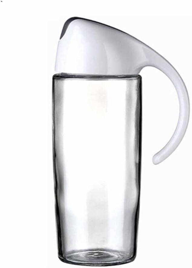 STRAW Mesa Mall Oil Dispenser Topics on TV Glass Olive Pot Sauce Leakproof V Bottle