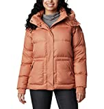 Columbia Northern Gorge Down Jacket Northern Gorge - Chaqueta de plumón para mujer, Mujer, 1909401, Nova Ripstop Rosa, L