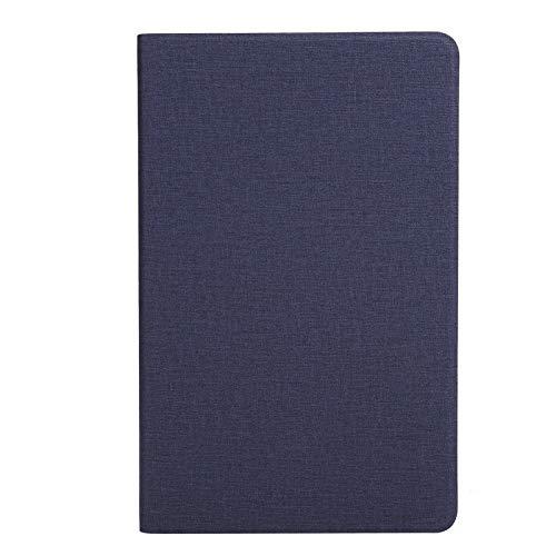 Funda Protectora para Tableta, Funda de Cuero PU empresarial anticaída para Alldocube iPlay40, Funda para Tableta a Prueba de Polvo con múltiples ángulos de visión Ajustables(Azul)