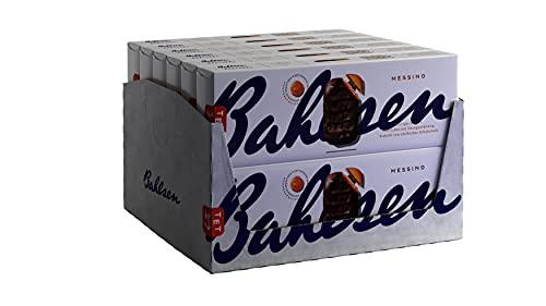 Bahlsen Messino Edelherb - 12er Pack - Luftiges Gebäck mit Orangenfüllung und edelherber Schokolade (12 x 125 g)