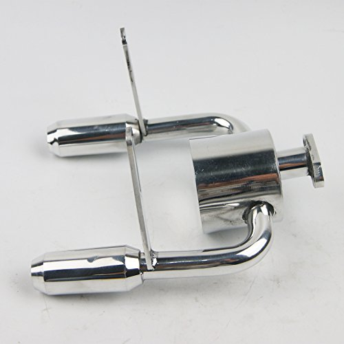 Duel Tuned exhaust Pipe For KING MOTOR Rovan HPI Baja 5B 5SC SS KM001 2 T1000