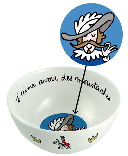Bol prince Avoir des moustaches - Petit Jour Paris