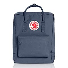 ICONIC: Same classic Kanken design since 1978. Stash everyday essentials in the main zippered compartment, front zippered pocket, and two open side pockets. PRACTICAL: Meet the material: Vinylon F. It has a weird name but it's dirt-resistant, water-r...