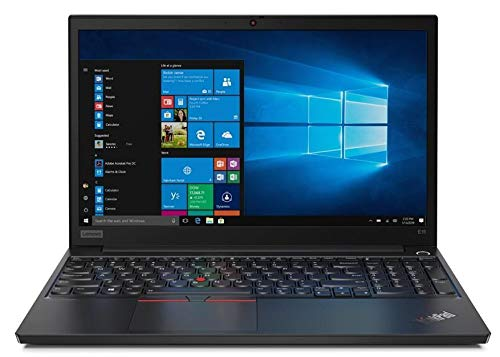 Lenovo ThinkPad E15 (20RD001FUK) 15.6' Full HD Laptop (Black) (Intel Core i5-10210U, 8GB RAM, 256GB SSD, Windows 10 Pro)