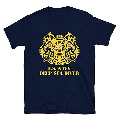 US Navy Deep Sea Diver Underwater Operations Unit Marine Corps - Camiseta de buceo