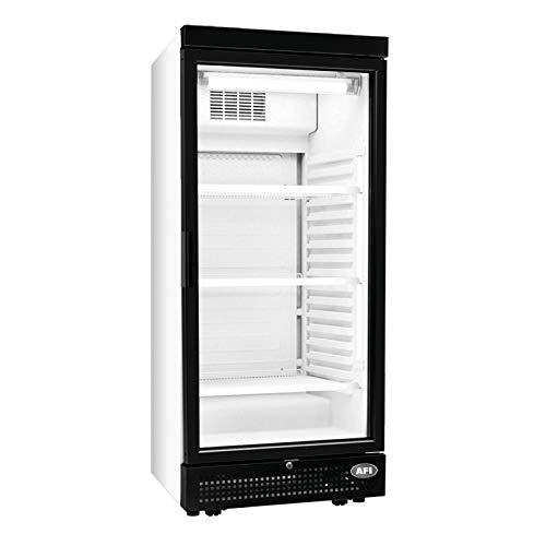 AFI Collin Lucy R600A - Armario de bebidas refrigerado positivo con 1 puerta de cristal (240 L)