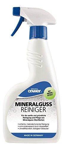 Mineralguss Reiniger | Zur Reinigung und Pflege von Mineralguss Oberflächen | 750 ml Sprühflasche