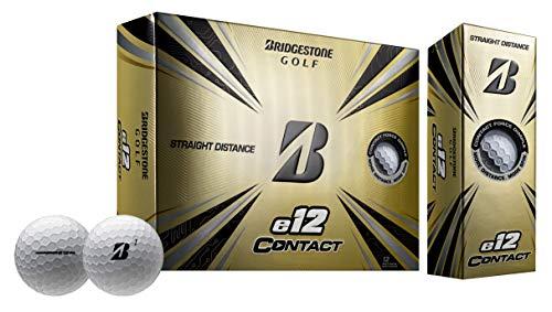 Bridgestone Golf 2021 e12 Contact Golf Balls, White