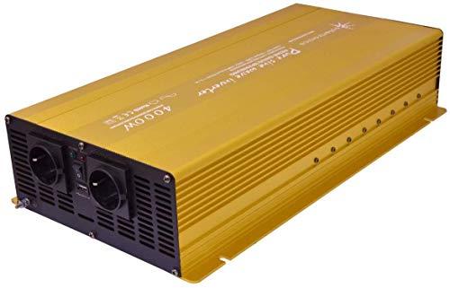 solartronics Spannungswandler 24V 4000/8000 Watt Reiner Sinus Gold Edition NF Serie Inverter Wechselrichter