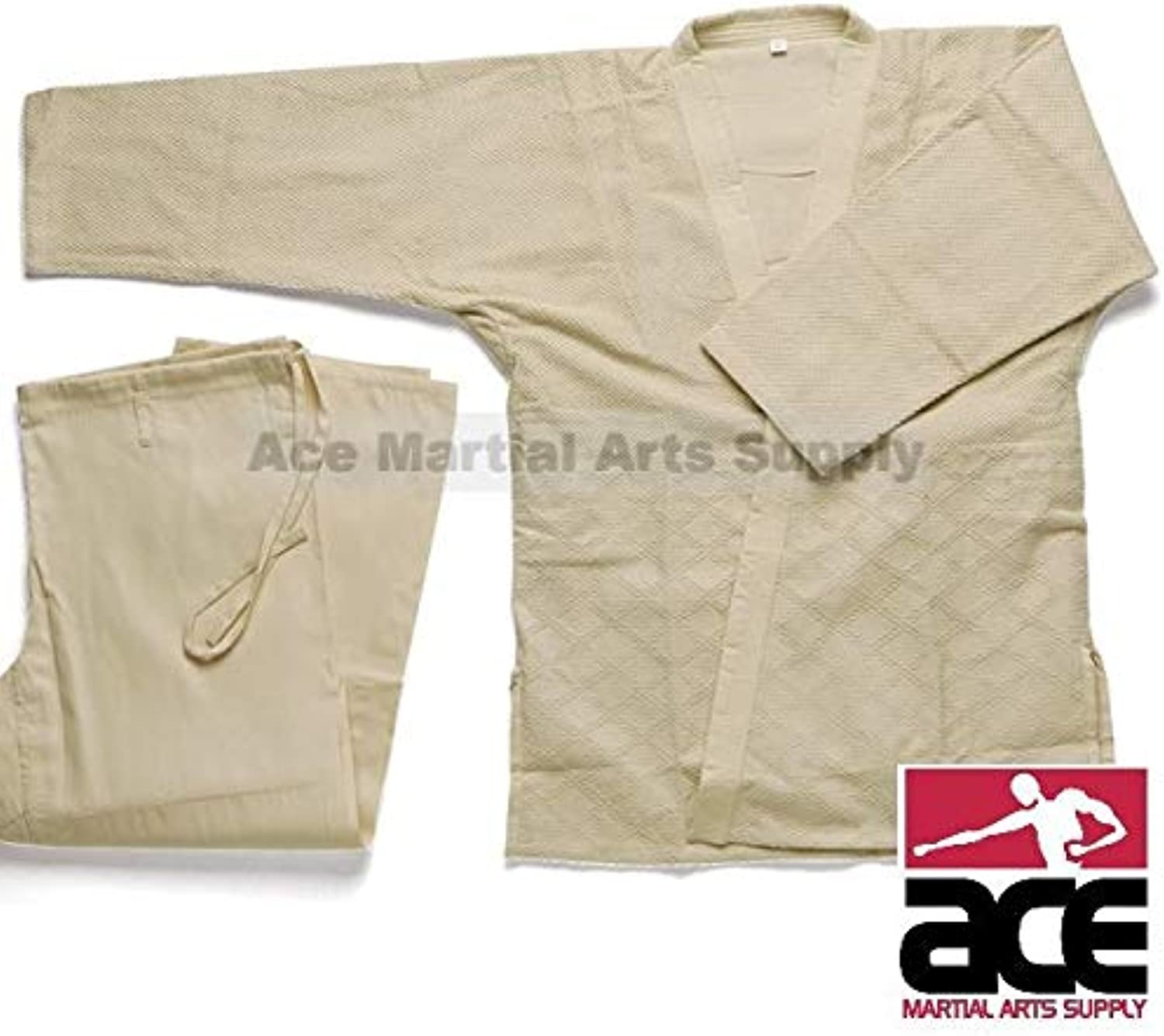 Double Weave Judo GI  Natural Beige