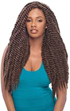 """Janet Collection Synthetic Hair Braids Havana 2X Mambo Twist Braid 18"""" (1-Pack, 30)"""