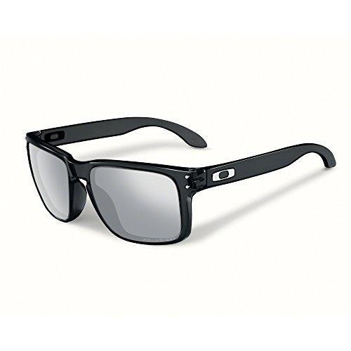Oakley Sonnenbrille Holbrook, Gafas de Sol Polarizadas Unisex, Negro (Black Ink W/Chrome...