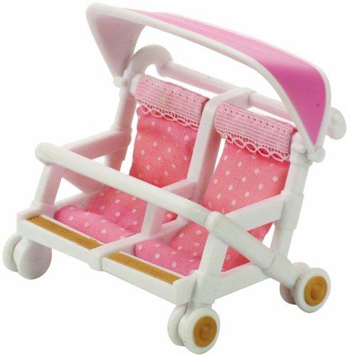 Sylvanian Families Doppel-Kinderwagen