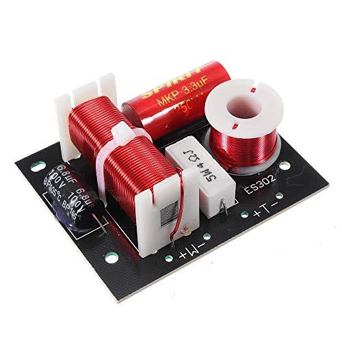 Repair Tools Herramientas de Bricolaje, HiFi Crossover for Altavoces DIY Divisor de frecuencia de Audio for Altavoces de 3-8 Pulgadas for 4-8OHM Amplificador de Altavoz 3200Hz
