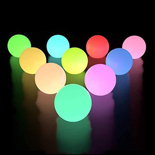 LED-Pool-Lichter, IP68 wasserdichte Badelichter, außerhalb der Batterielichter, RGB-Farbwechsel-LED-Badewanne Nachtlicht für Außen- und Innenpool-Dekoration (Size : 2pcs)