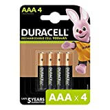 Duracell Rechargeable AAA 900mAh Batteries, Pack of 4