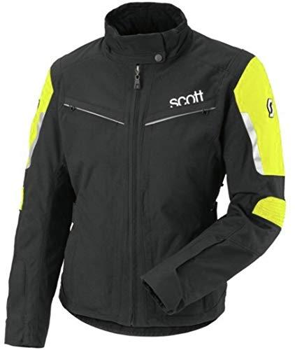 Scott Turn TP Damen Motorrad Jacke schwarz/gelb 2014: Größe: 36
