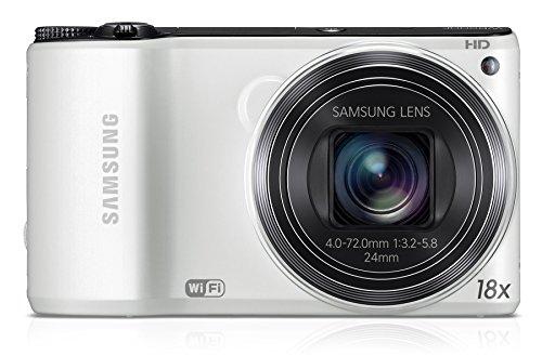 Samsung WB200F Smart-Digitalkamera (14,2 Megapixel, 18-fach opt. Zoom, 7,6 cm (3 Zoll) LCD-Display, bildstabilisiert, WiFi) weiß