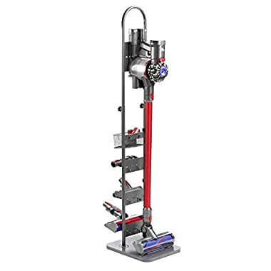 Masterpart Docking Station and Tools Floor Stand for Shark, Vax, Dyson Handheld V6 V7 V8 V10 DC30 DC31 DC34 DC35 DC59 Cordless Vacuum Cleaners, Grey