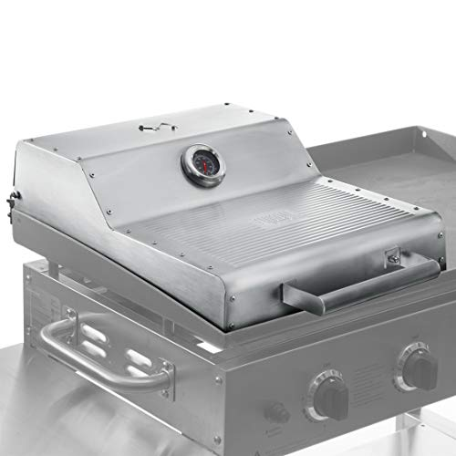 """Yukon Glory Griddle Hood Designed to be Compatible with The Blackstone 36"""" Griddle Adds All-Round Convection Cooking to Your Griddle Built-in Thermometer and Warming Rack Not for Pro-Series"""