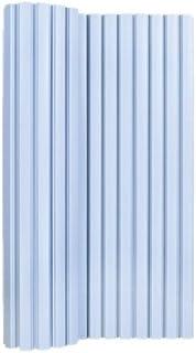 オーエ ポリプロ風呂ふた シンプルスタイル 防カビ加工 幅70×長さ110cm ブルー M-11