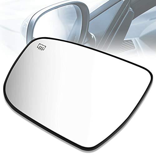 PLKDOO For 17-19 Pathfinder V6 3.5L Rogue L4 2.0L&15-18 Murano V6 3.5L&16 Murano L4 2.5L &14-19 Rogue L4 2.5L OE Style Left Heat Mirror Glass 963664BA1A
