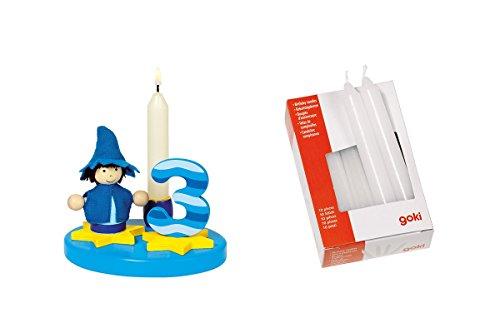 Geburtstagskind Junge mit Zahlen 0-9 inkl. 10 Kerzen