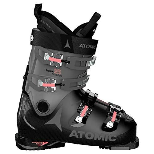 Atomic Damen HAWX Magna 95 S W Ski-Stiefel, Black/Anthracite/Coral, 42 EU