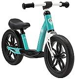 BIKESTAR Bicicletta Senza Pedali Extra Leggera per Bambino et Bambina 3 - 4 Anni   Bici Senza Pedali Bambini 12' Pollici Eco Classico   Turchese