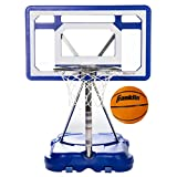 Franklin Sports Pool Basketball Hoop - Waterproof Mini Basketball Hoop for Poolside - Portable 30' Kids Basketball Hoop - Steel Construction - All Ages