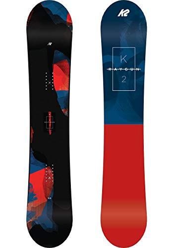 K2 Herren Raygun Snowboard, rot-blau-schwarz, 156 cm, 11C0012.1.1.156