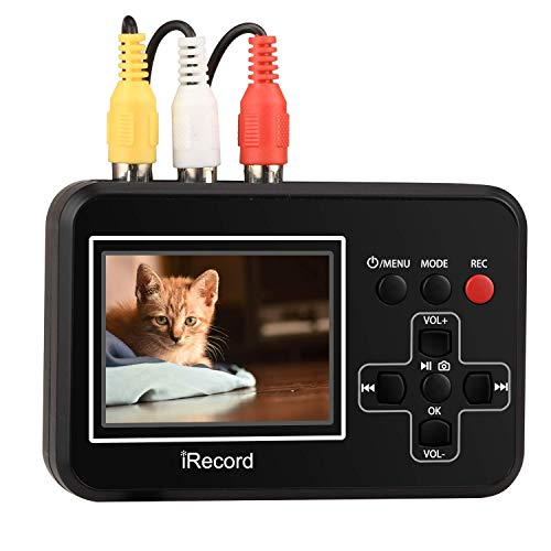 DIGITNOW Video to Digital Converter,VHS to Digital Converter to Capture Video from VCR's,VHS Tapes,Hi8,Camcorder,DVD,TV Box and Gaming Systems