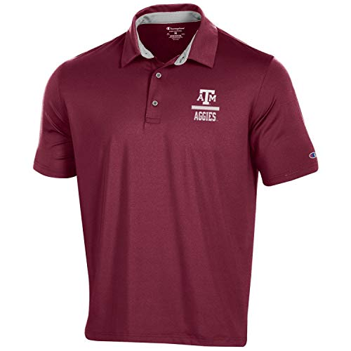 Champion NCAA Team Color Poloshirt mit gesticktem Logo - - Groß