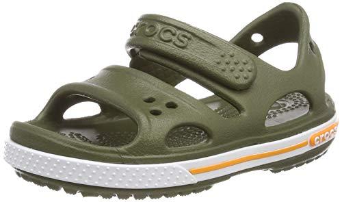 Crocs Crocband Ii Sandal Ps K, Unisex-Kinder Sandalen, Grün (Army Green 309), 22-23 EU (6 UK)