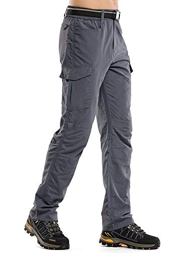 Jessie Kidden Mens Hiking Pants Adventure Quick Dry Lightweight Fishing Camping Travel UPF 50