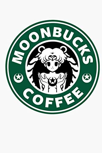 Moonbucks Coffee Notebook: (110 Pages, Lined, 6 x 9)