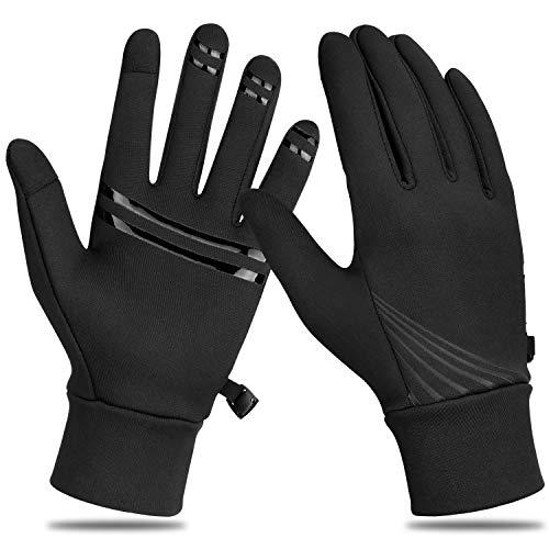 Yobenki Winterhandschuhe Herren Touchscreen Handschuhe Warme Handschuhe rutschfest Sportshandschuhe Fahrradhandschuhue Laufhandschuhe für Fahren Wandern Arbeiten Outdoor Sport