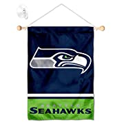 Banner is 12x18 inches in size and includes 17 inch wide by 3/8 inch diameter Wood Banner Pole with cut to size display rope. Sturdy 1.75 inch diameter Suction Cup is included Banner Flag is made of 2-ply 100% Polyester with Sewn-In Liner and Screen ...