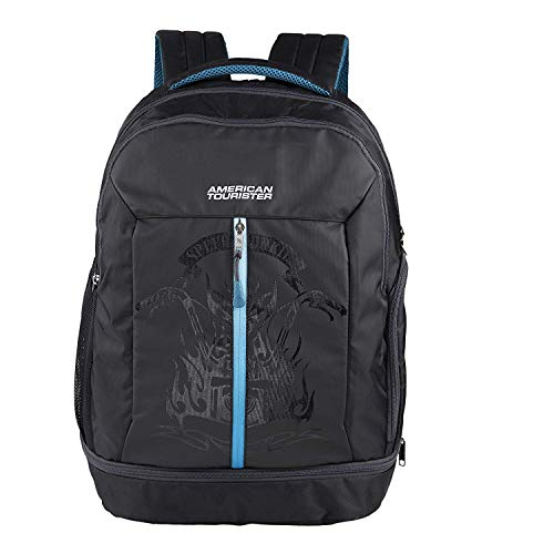 American Tourister Snap Nxt 02 Black Laptop Backpack