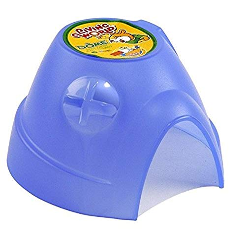 Living World Dome for Small Animals, Hamster Hideout, Small, 61380, Color may vary
