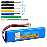 5500mAh Battery GSP0931134 for JBL Xtreme Battery Speaker Battery with Install Tools