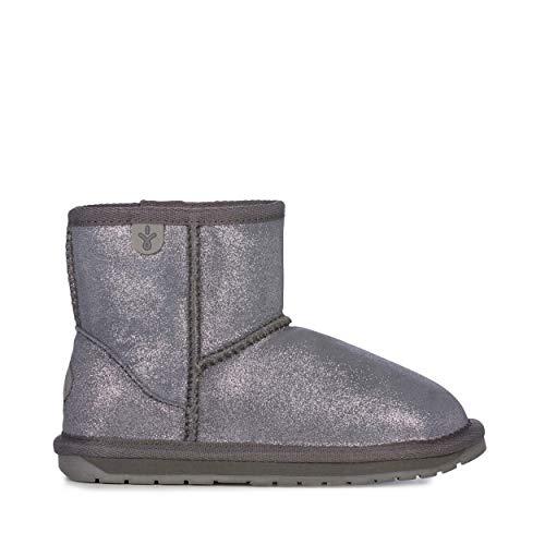 EMU Australia Kids Wallaby Mini Metallic Deluxe Wool Boots Size 2 EMU Boots
