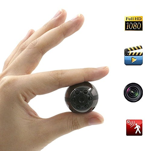 Spy Hidden Camera, Moosoo 1080P/720P HD 6 LED Infrared Night Vision Motion Detection Camcorder Video SD Card Storage Nanny Cam Home Security Camera