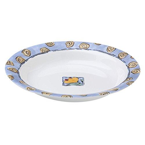 Corelle Impressions Watercolors 15 Ounce Rimmed Soup/Salad Bowl (Set of 4)