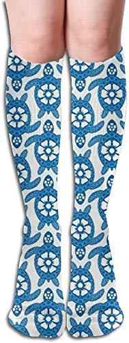 deyhfef 7 Oz Stainless Steel Flask Blue Hat Rains Tortoise Fashion Portable Stainless Steel Hip Flask Whiskey Bottle for Men and Women 7 Oz