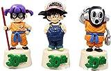 HYCZW Personaje de Anime Dragon Ball 30th Figura de invitado Mega Figura de acción RARA 3pcs / Set