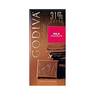 Godiva Milk Chocolate Bar, 3.5-Ounces (Pack of 5) (B004BQVACG) | Amazon price tracker / tracking, Amazon price history charts, Amazon price watches, Amazon price drop alerts