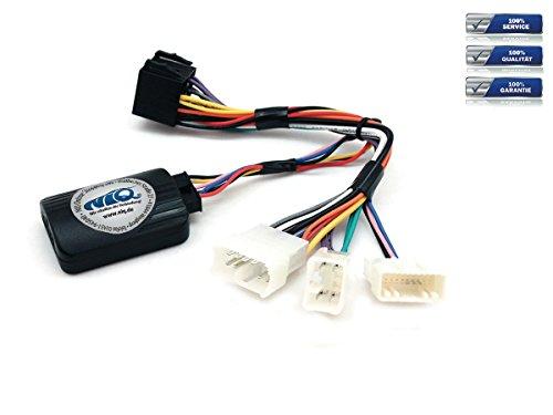 NIQ Lenkradfernbedienungsadapter geeignet für PIONEER Autoradios, kompatibel mit Toyota Avensis (T25) und Diverse Modelle Bj. bis 2011
